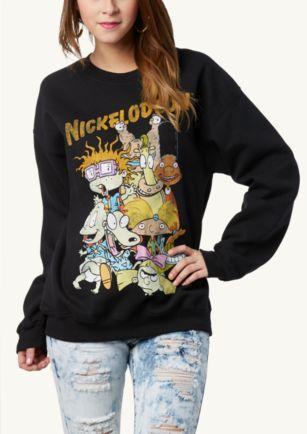 Nickelodeon Retro Sweatshirt   Tops   rue21
