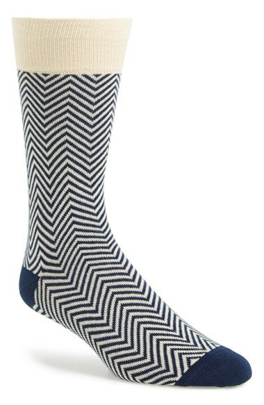 Lorenzo+Uomo+'Candy'+Chevron+Socks+available+at+#Nordstrom