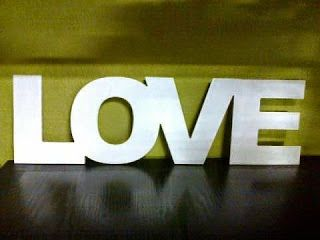 Selawiart.pl - blog dla osób z pasją !: Napis LOVE   inscription Love :)