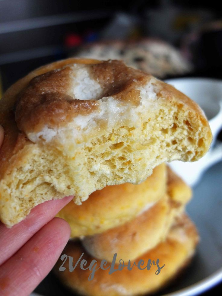PUMPKIN YEAST ROLLS WITH COCONUT CHEESE AND CRUMBLE -