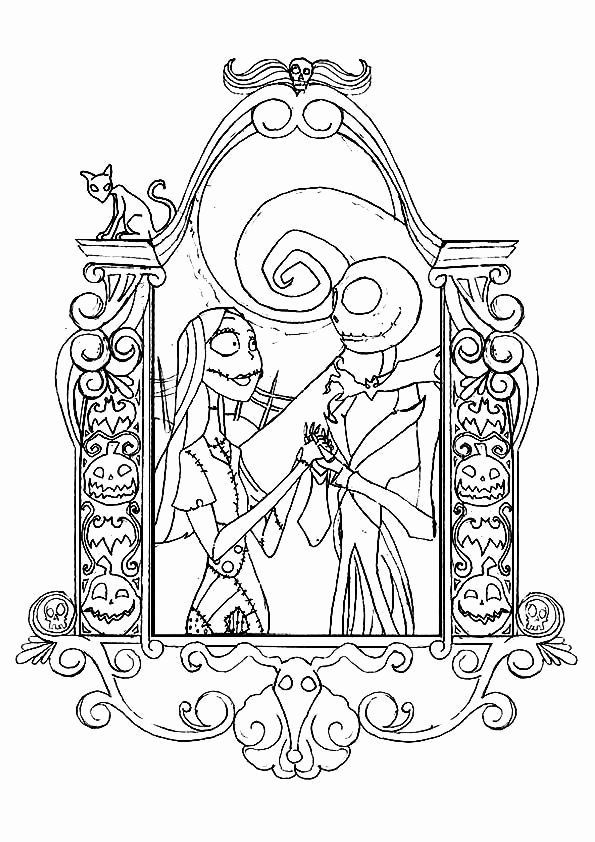 Alice Nightmare In Wonderland Coloring Book Beautiful 22 Best Coloring Ni Christmas Coloring Pages Christmas Coloring Books Nightmare Before Christmas Drawings