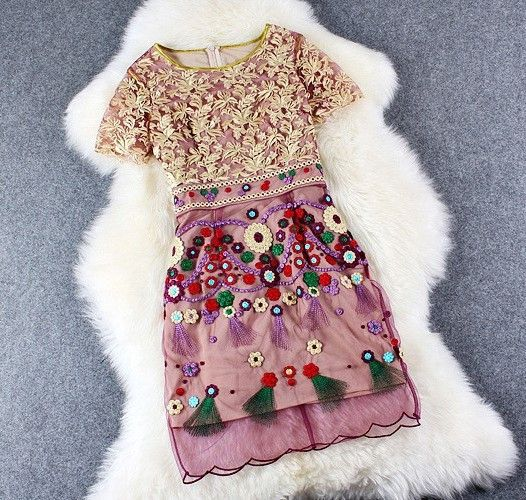 Embroidery are very hot this year! Shop top embrodered items here: https://goo.gl/IXhlS2