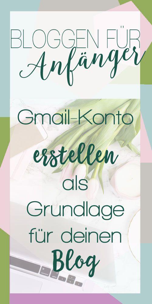 Gmail-Konto erstellen für den eigenen Blog. Erstelle mit dieser kostenlosen Anleitung einen eigenen Blog Schritt für Schritt für Anfänger ohne Vorkenntnisse.