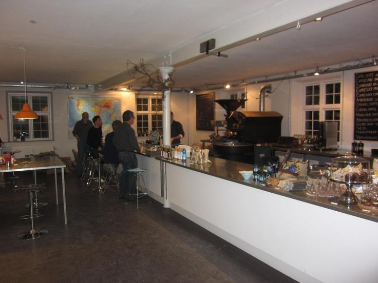 Roasting course. Strandvejsristeriet, Kronborg with Peter Slott.