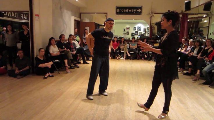 Tango Lesson: The Back Boleo