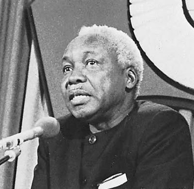 Julius Nyerere - Former President of Tanzania and one of Africa's greatest leaders. A great leader looks out for the interests of their country rather than their own. Many who are in power can learn a lot from him.