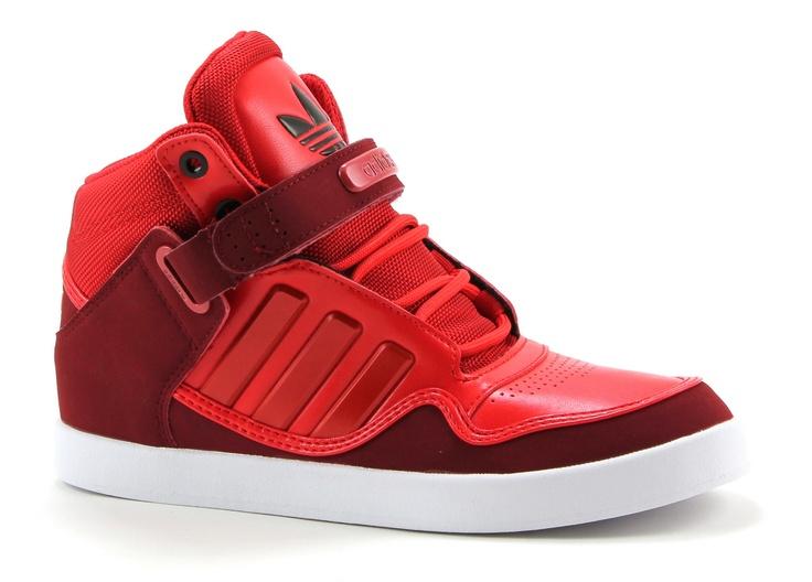 Adidas ar 2.0 rode hoge sneakers