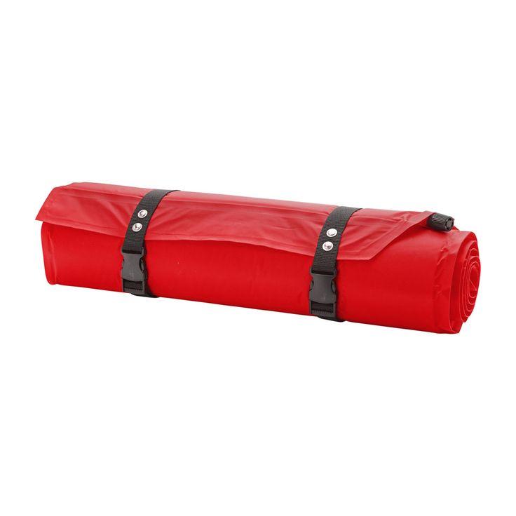 Natuurlijk heb je geen zin om een luchtbed op te blazen op de camping. Daarom neem je deze zelfopblazende slaapmat mee! Je rolt hem uit, draait de dop open, en de slaapmat blaast zichzelf vol. Zo kan jij 's nachts heerlijk slapen.