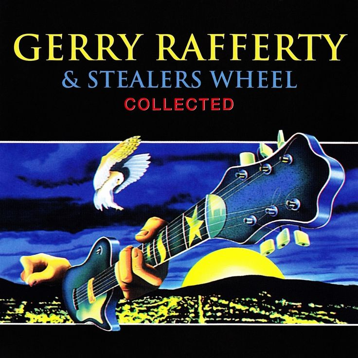 2011 Gerry Rafferty & Stealers Wheel - Collected [Universal Music 533279-4] original cover illustrations: John Patrick Byrne #albumcover