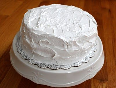 how to make fluffy white icing