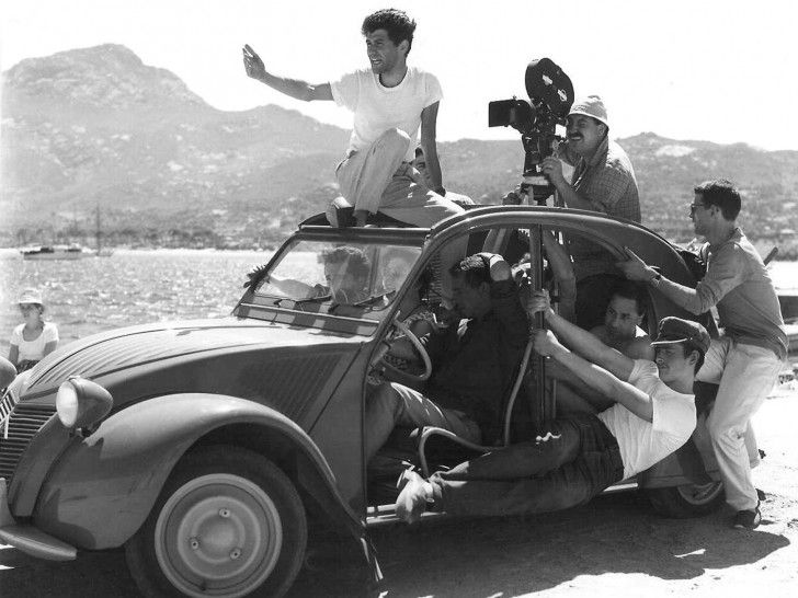 "Making the film ""Adieu Philippine"" by Jacques Rozier in Corsica"