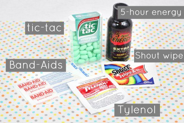 Bachelorette Party Gift Ideas Hangover Kit Contents