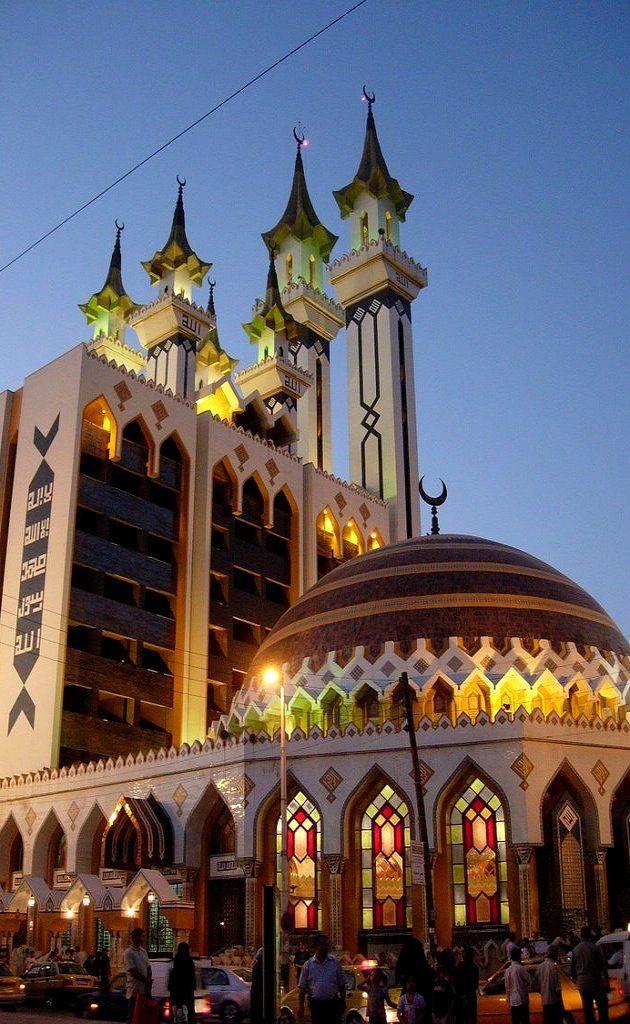 Al Rahman mosque - Aleppo, Syria (by Mazen Hezbor) http://en.wikipedia.org/wiki/Ar-Rahman_Mosque #Syria