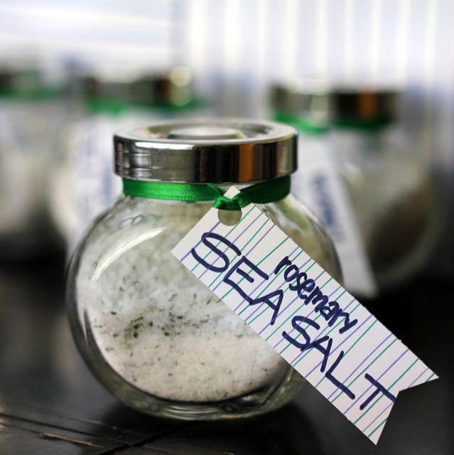rosemary flavored sea salt