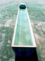 Stock Water Trough - flat base & float value cover
