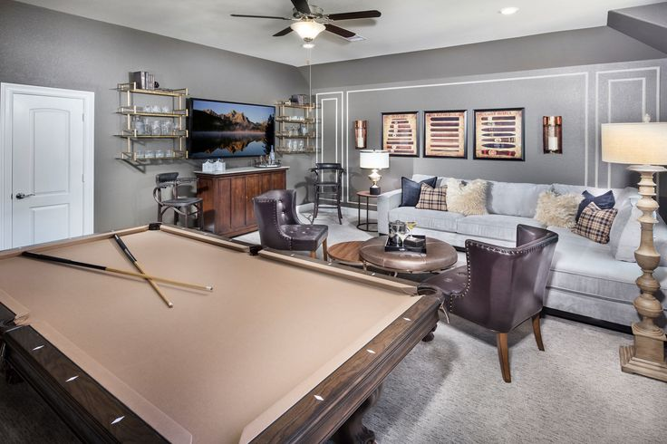 Would entertaining guests be FUN with a bonus room like this ONE?!