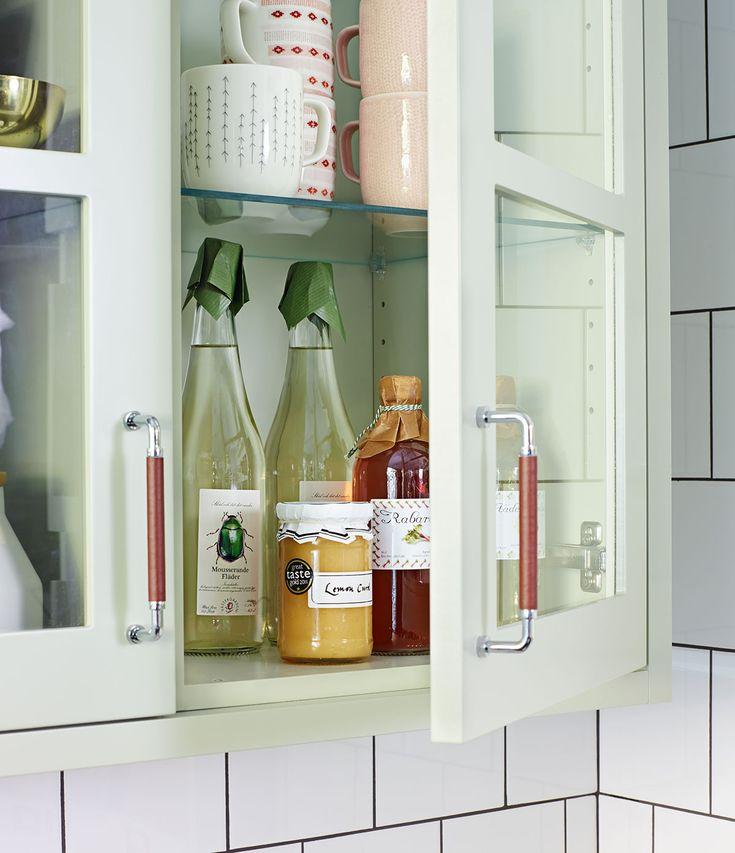 Köksinspiration - Bistro lindblomsgrönt kök med detaljer. | Ballingslöv