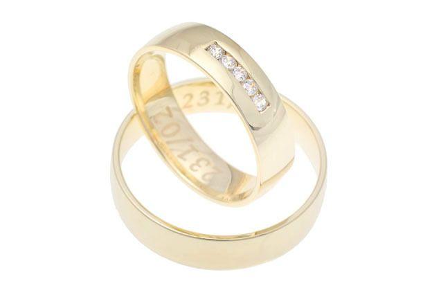 Snubní prsteny - model č. 231/02