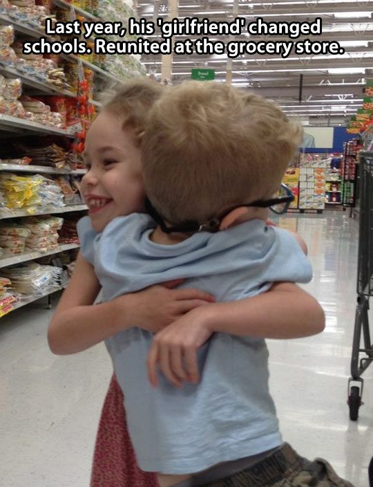 The cutest couple reunited…