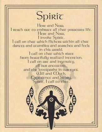Spirit Invocation Poster