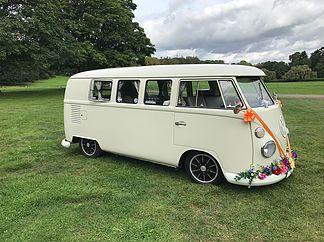 Vintage Wedding Car Hire | The White Van Wedding Company | London