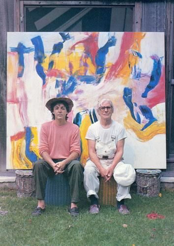 McCartney and de Kooning