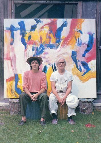 McCartney and de Kooning   :-)