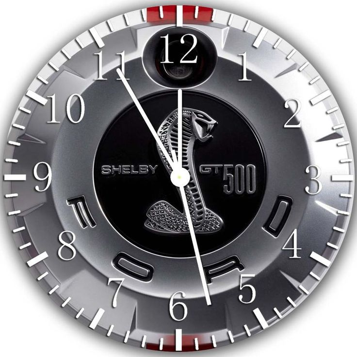Ford Mustang Shelby Gt Wall Clock 10 Will Be Nice Gift And Room Wall Decor Z90