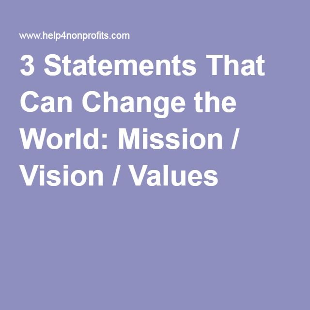 The 25+ best Sample mission statements ideas on Pinterest - mission statement for resume
