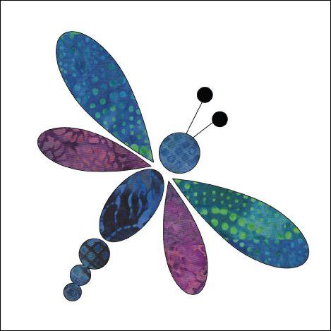 (7) Nombre: 'acolchar: aplicadas Añadir -Dragonfly de En