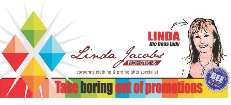 Take the boring out of promotions!  Contact us for your promotional gifting ideas.  37 years in the industry! I think we've got things in hand for you and your brand!  www.lindajacobspromotions linda@lindajacobspromotions.co.za 083 6280181 021 5572152