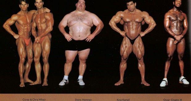 Fantasztikus fotósorozat sportolók testfelépítéséről.