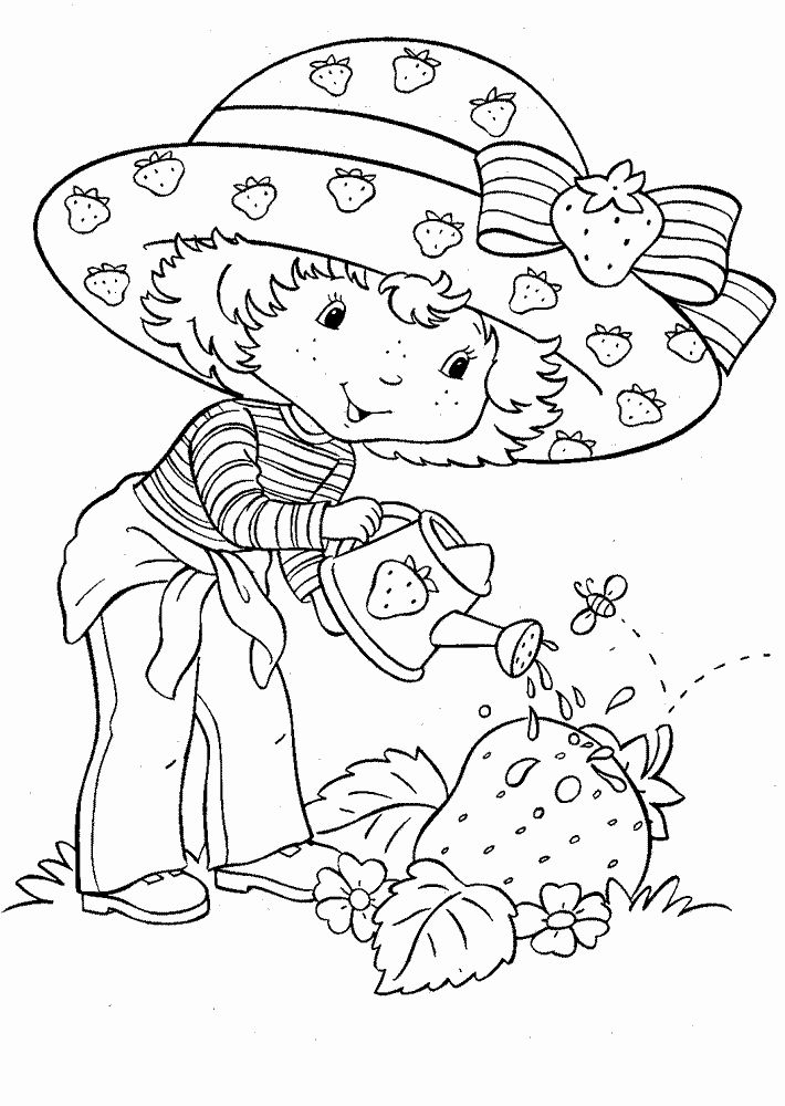 Strawberry Shortcake Coloring Book Beautiful Strawberry Shortcake