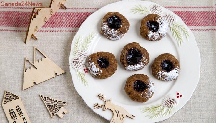 Sugar Plum Fairy Cookies are gluten-free, jam-filled goodness