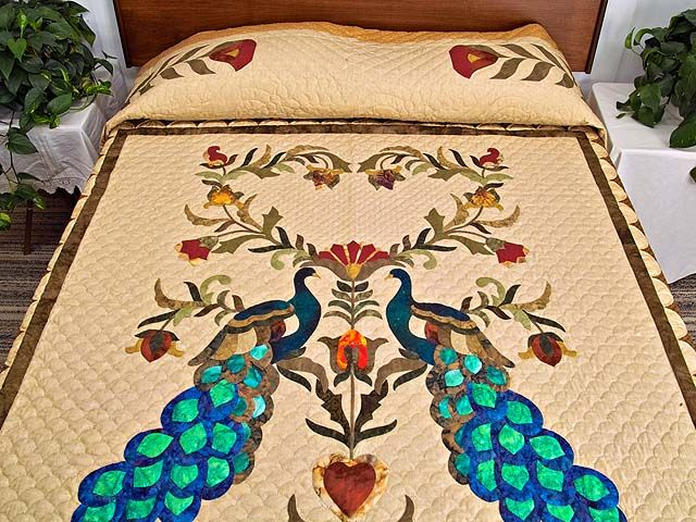 Salutation Quilt -- wonderful smartly made Amish Quilts from Lancaster (hs4027)