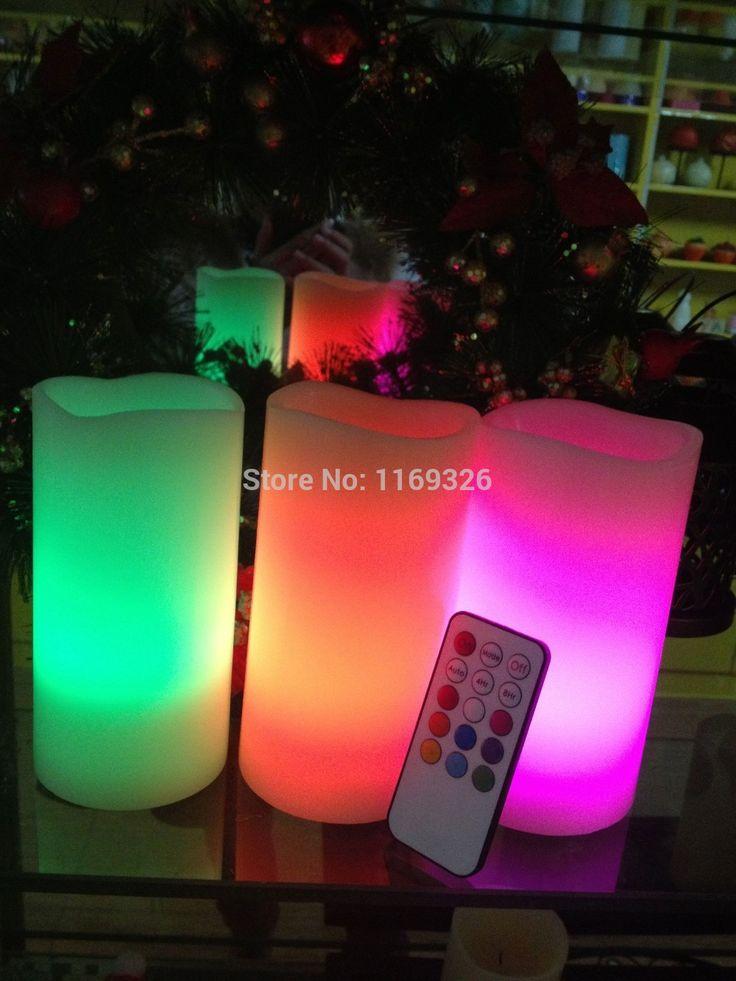 2016 янки свечи оптовая продажа из светодиодов дистанционного управления и таймер непламено свечах украшения дома