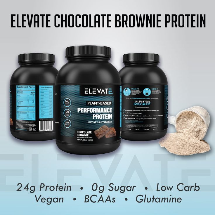 Elevate Nutrition Plant Based Vegan Performance Protein
