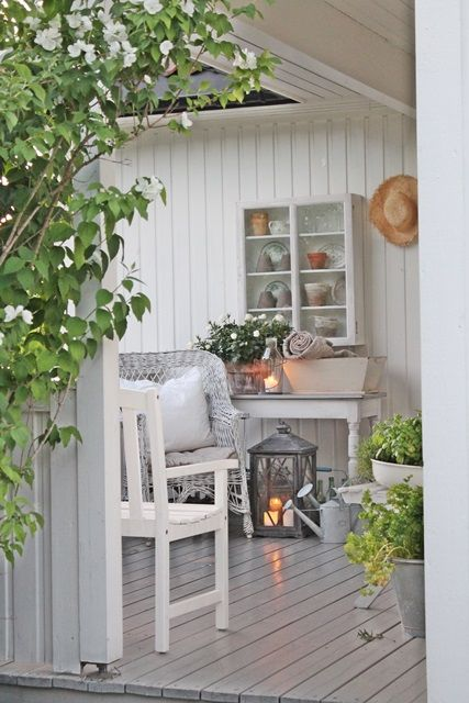 Painted decking