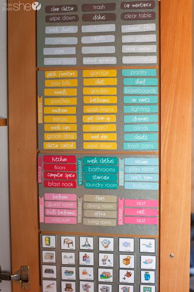 1000  ideas about magnetic chore charts on pinterest