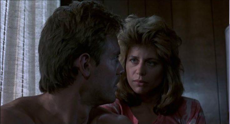 Linda Hamilton and Michael Biehn in The Terminator (1984)