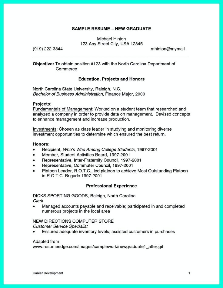 college student resume can be really challenging as this
