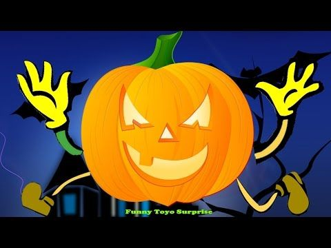 Cartoon Children's Halloween Night Song Nursery Rhimes Skeletons Ghost Monster Vampire Toyo Surprise - YouTube