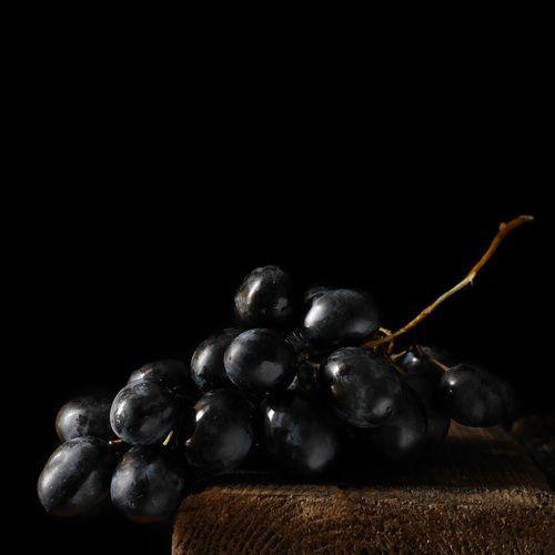 [BLACK FRIDAY] Le Noir à Rungis : le Raisin noir - Black food