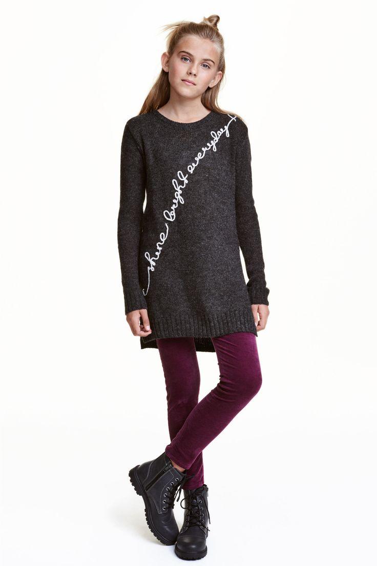 Sweter z cekinami | H&M