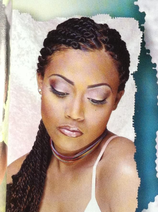 Protective Hairstyles for Transitioning Hair | styles for natural hair | Protective Styles Anyone...?-transition ...