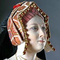Catherine of Aragon English hood | Grand Ladies | gogm
