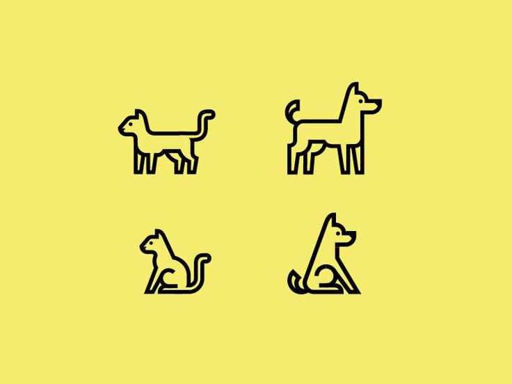 Dog & Cat Icons Original: http://ift.tt/1vRPd7S