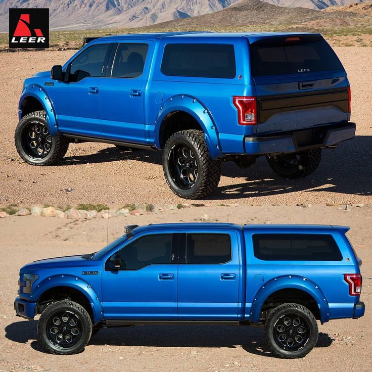 Ford Sport: On Location In Arizona Photo Shoot Of The Leer F150