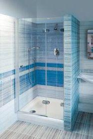 Malá koupelna - sprchový kout » MODERNÍ PANELÁK
