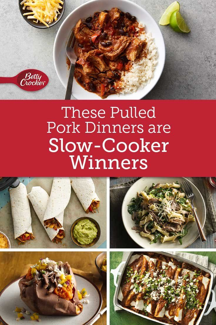 These Pulled Pork Dinners Are Slow-Cooker Winners | Slow Cooker